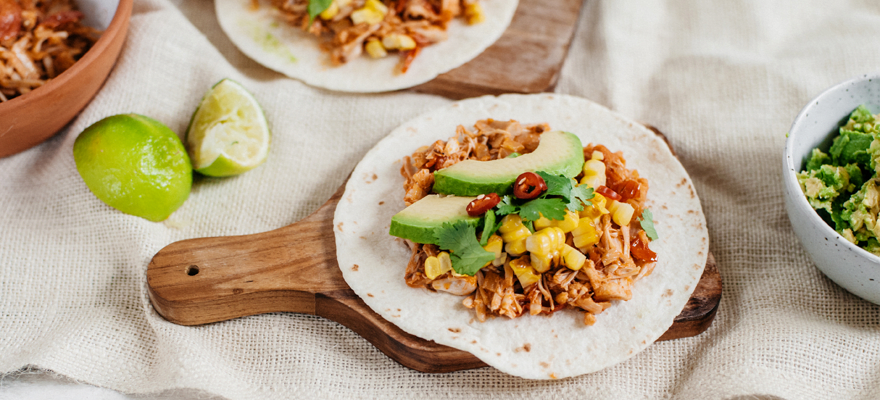 Shredded jackfruit street tacos thumbnail 1