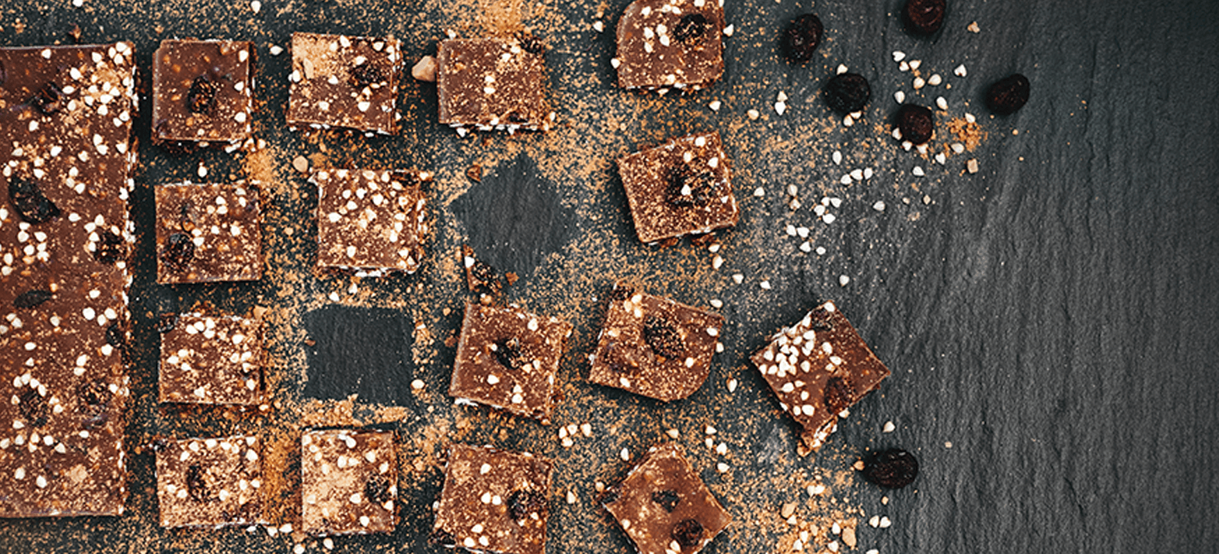 Peanut butter chocolate squares image 1