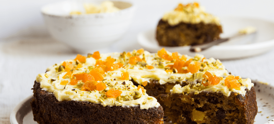 Weet-Bix™ hummingbird cake with orange frosting image 3