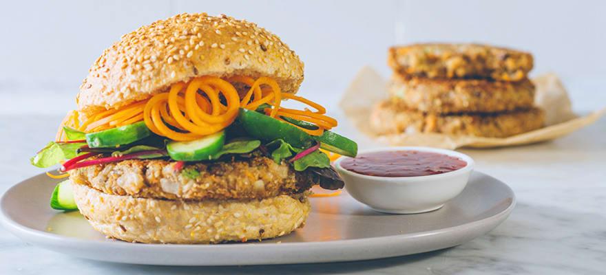 Lentil burgers image 1