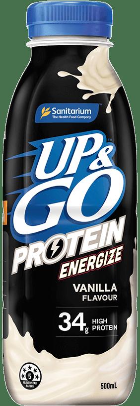 UP&GO™ Protein Energize Vanilla Flavour Bottle