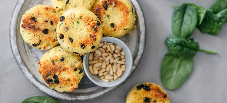 Moroccan couscous cakes image 1