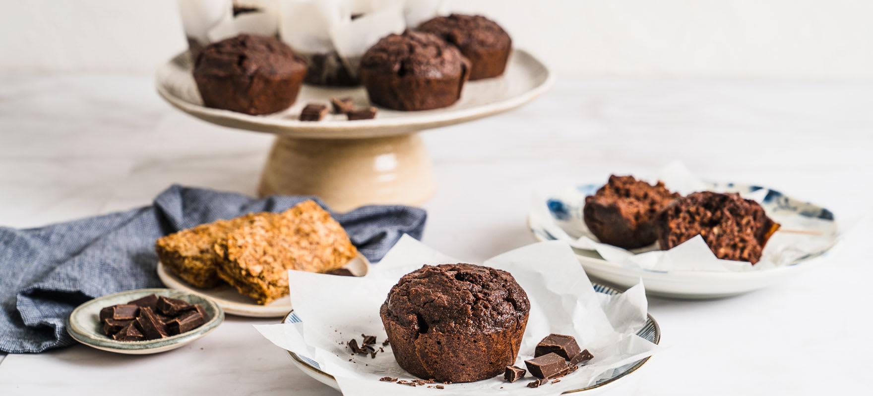 Gluten free chocolate muffins image 1