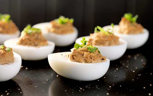 Devilled Marmite™ eggs image 1