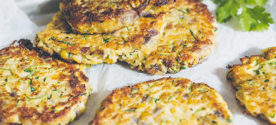 Lentil & courgette patties image 3
