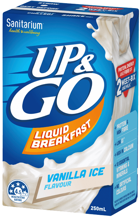 UP&GO™Vanilla Ice Flavour