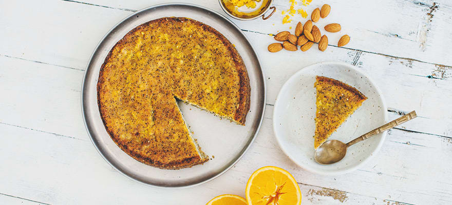 Orange almond cake image 2