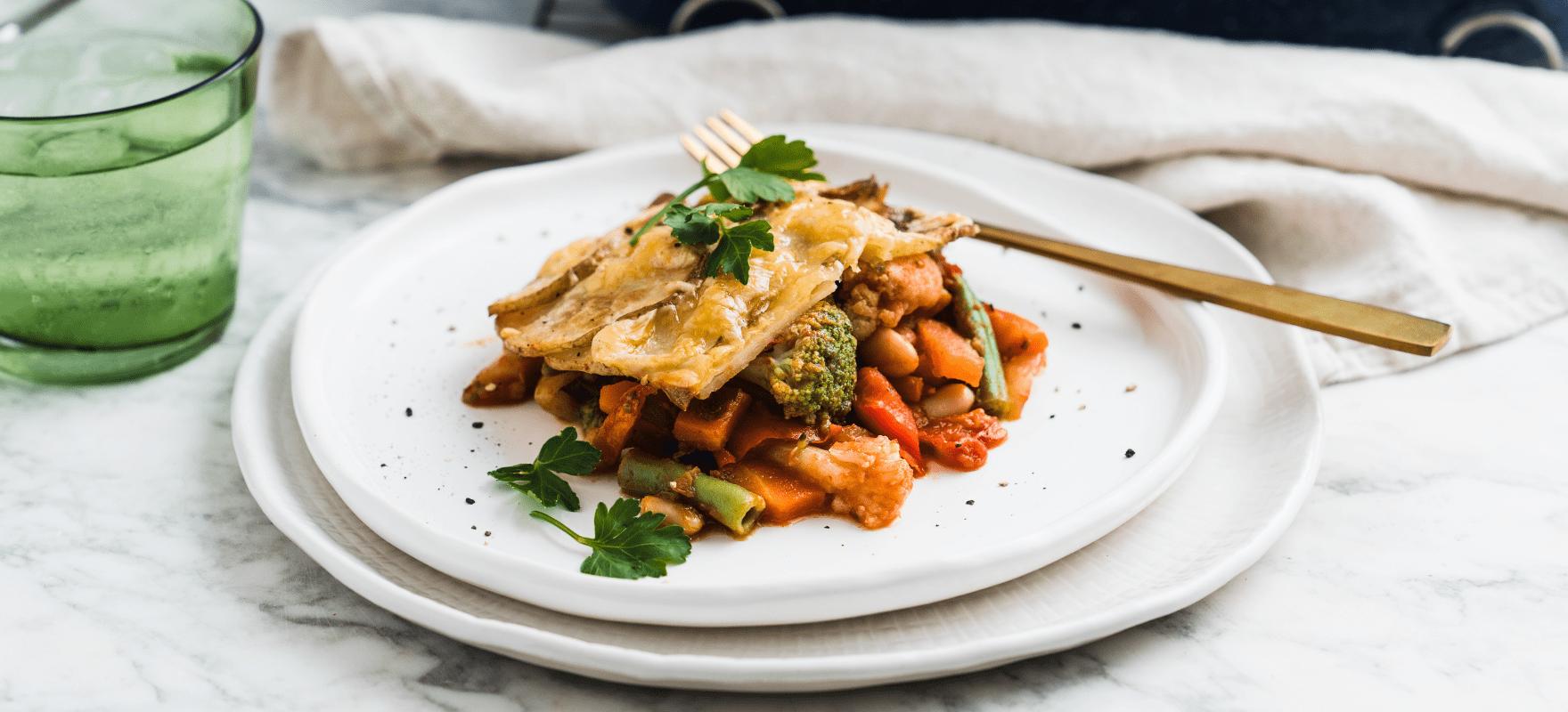 Baked vegetable casserole image 3