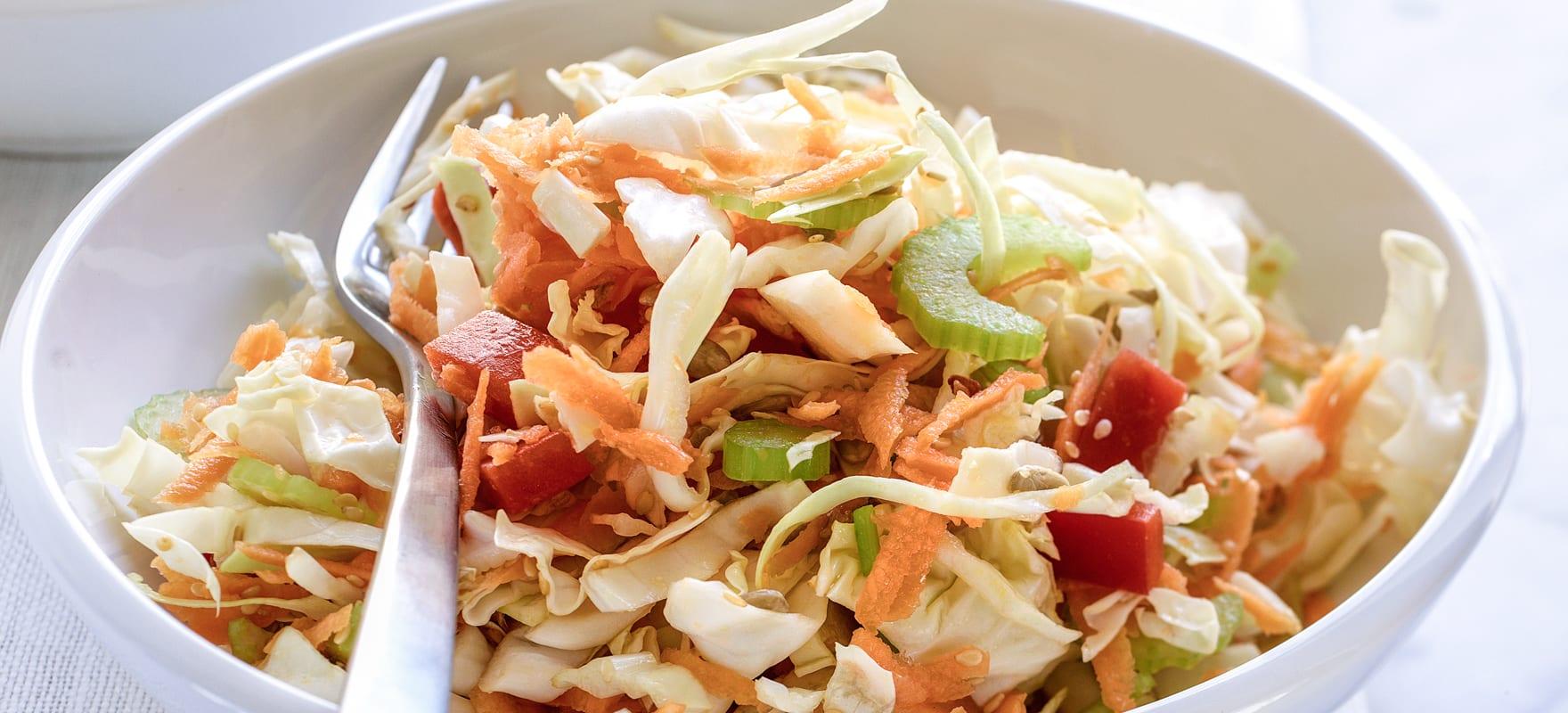 Light summer coleslaw image 1