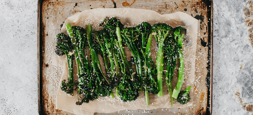 Oven roasted broccolini image 1