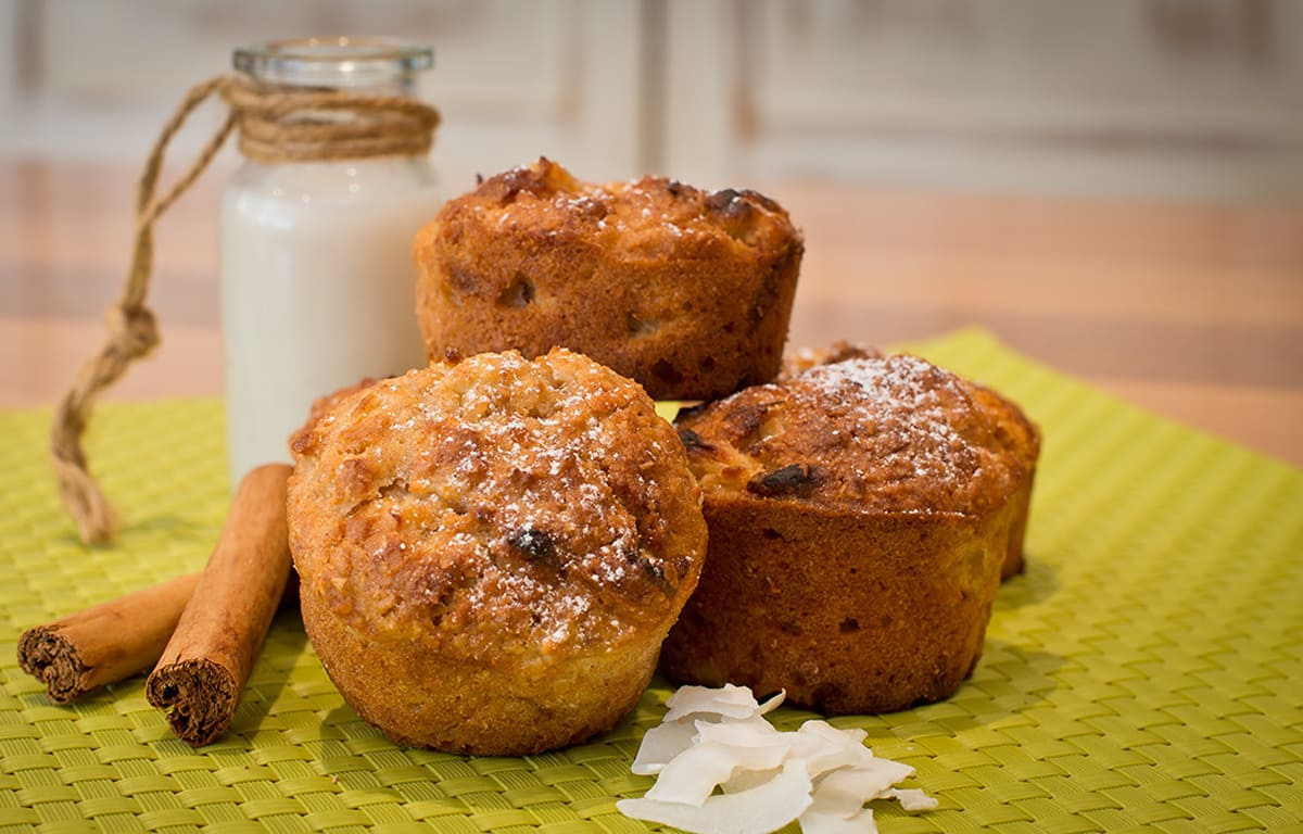 Pina colada muffins image 1