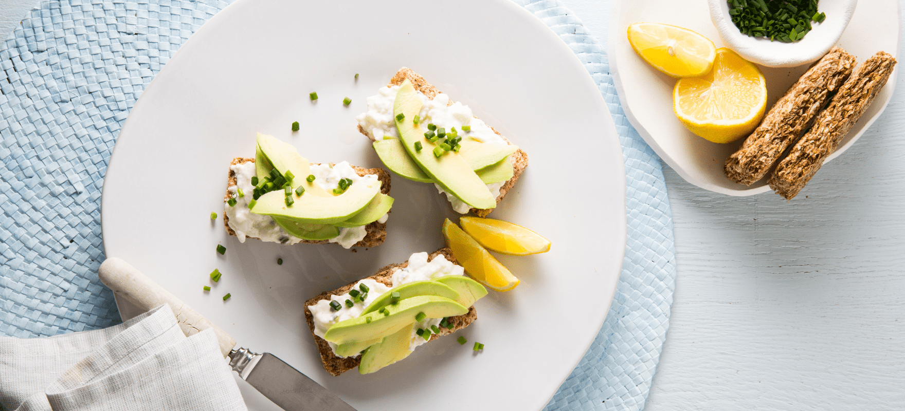 Avocado and cottage cheese on Weet-Bix™ image 1