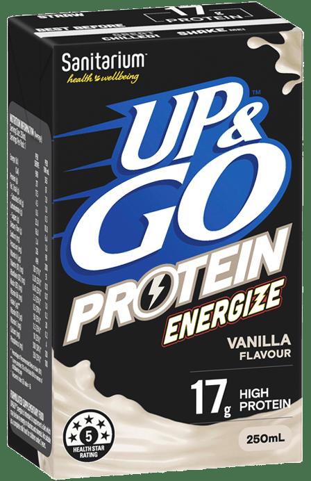 UP&GO™ Protein Energize Vanilla Flavour