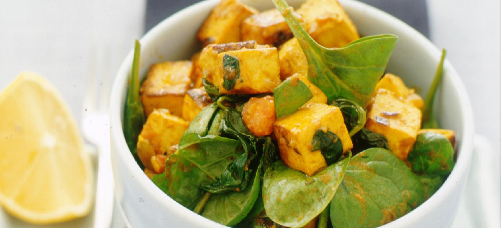 Indian tofu curry image 1