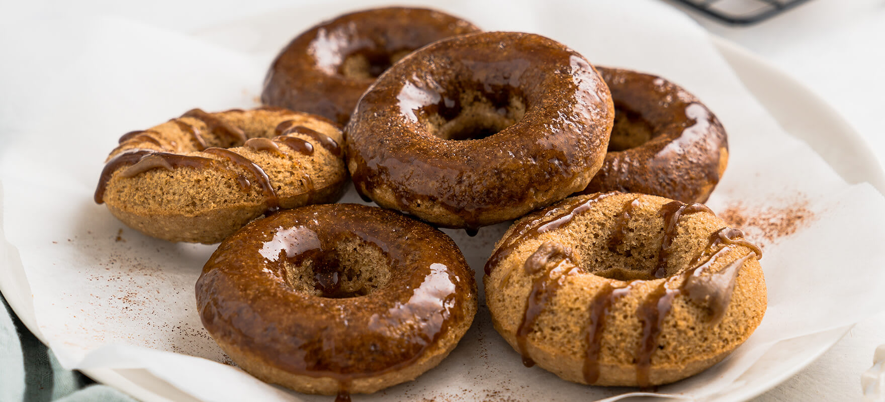 Baked chai donuts image 2