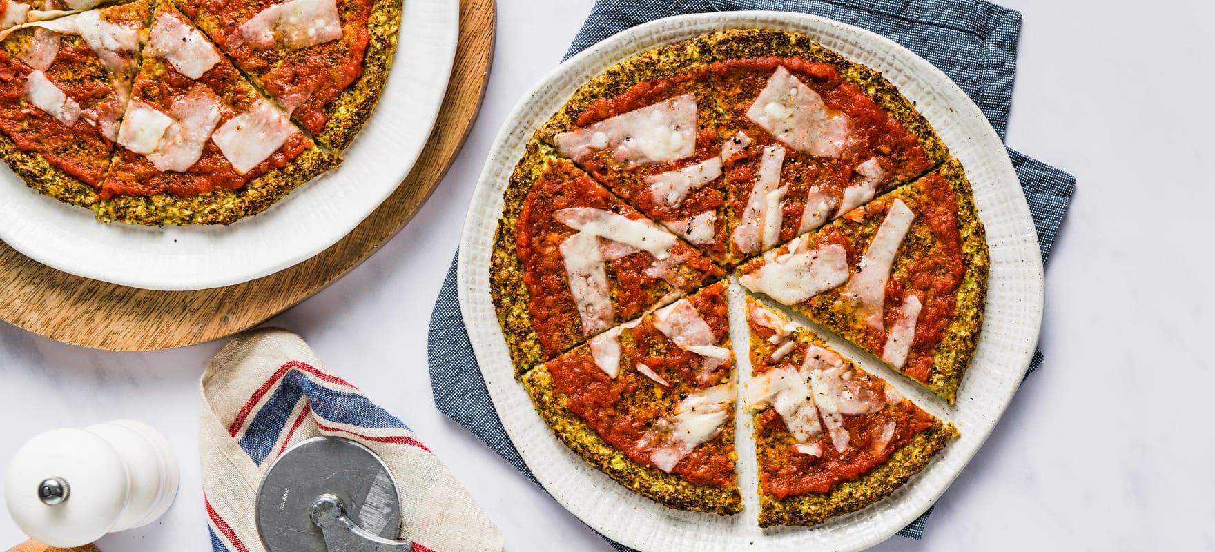 Broccoli & Parmesan pizza image 2