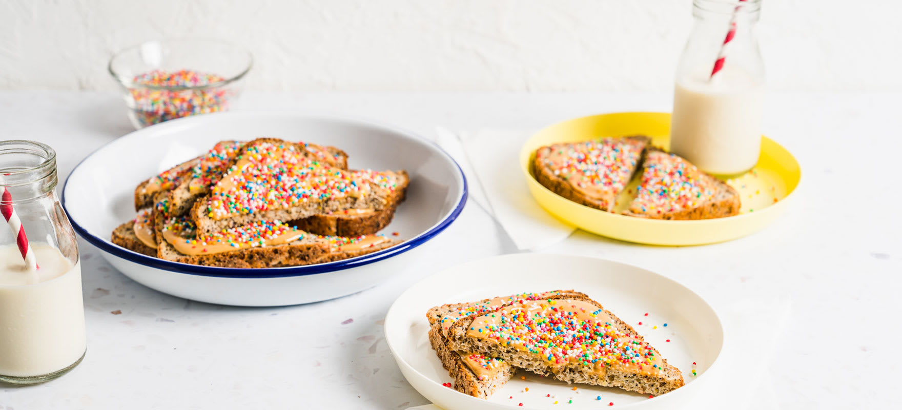 Peanut Butter Fairy Bread image 1
