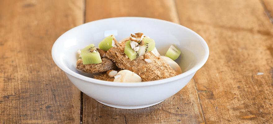 Weet-Bix™ with banana, kiwifruit and almonds image 1