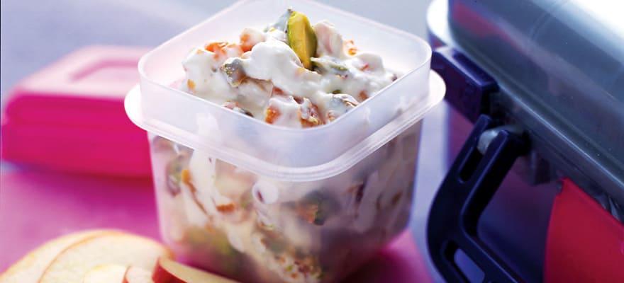 Yoghurt dip 'n' fruit image 1
