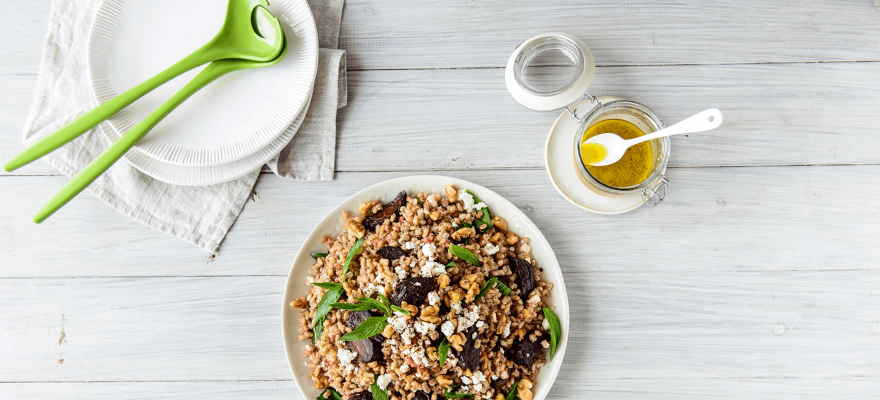 Pearl barley, beetroot and sumac salad image 3