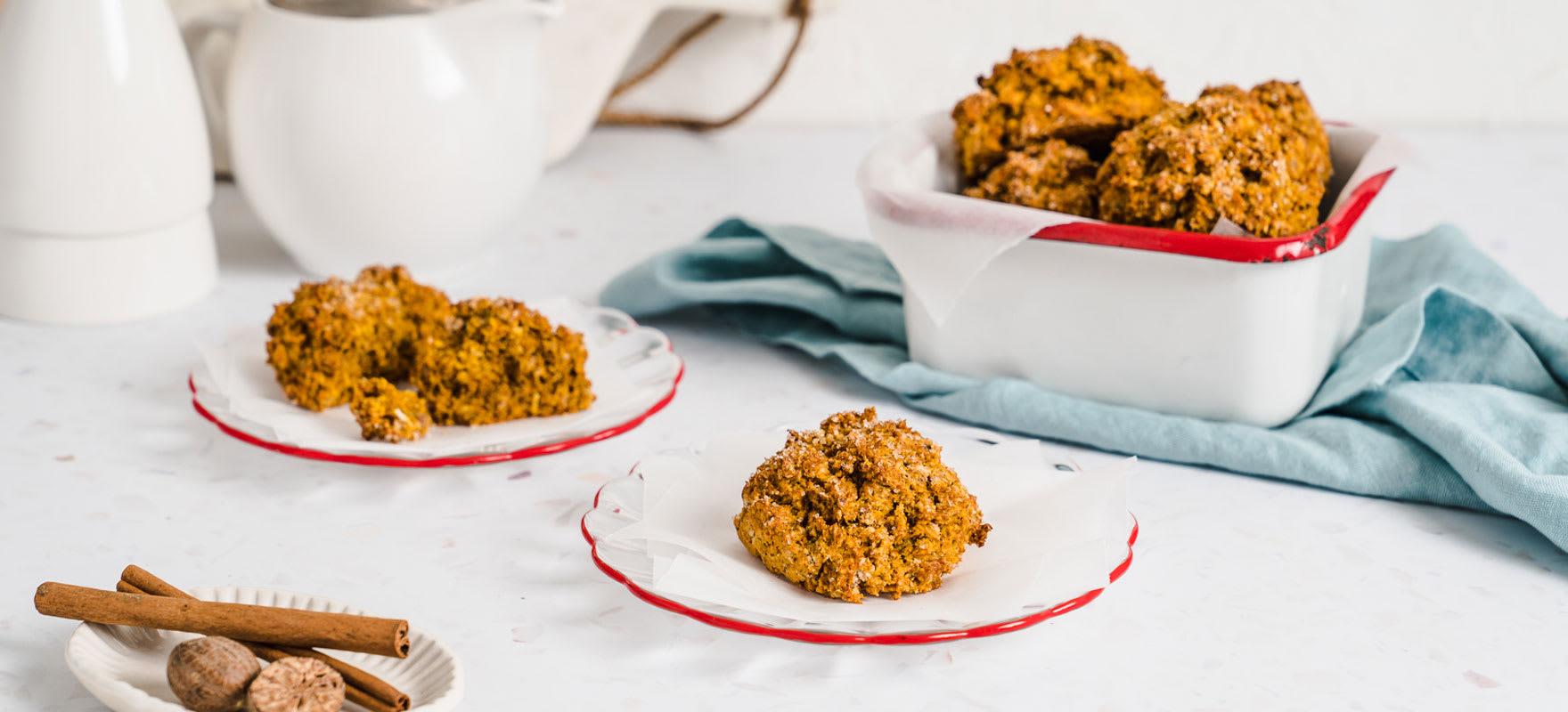 Gluten free pumpkin scones image 1