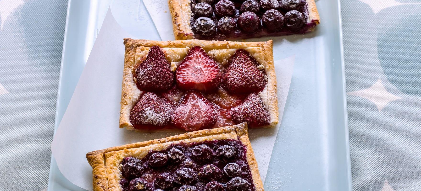 Berry tart image 1