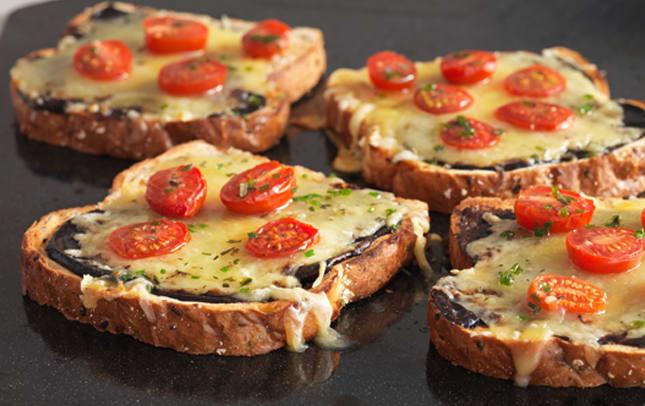 Cheesy Marmite and tomato image 1