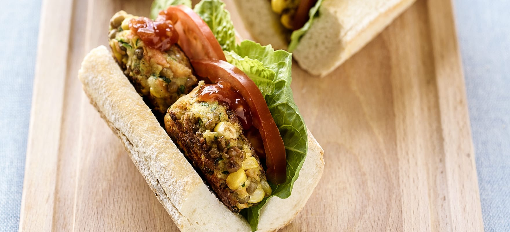 Vegetable burgers image 1
