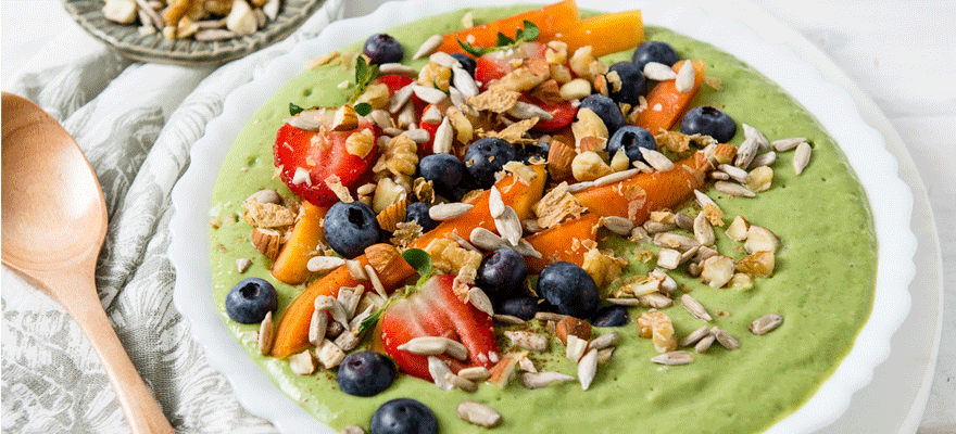 Green Smoothie Bowl image 2