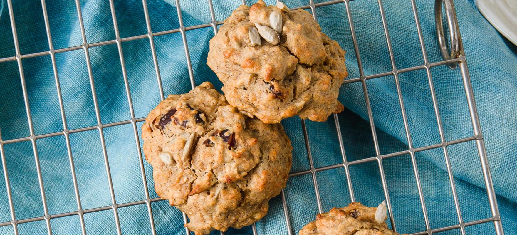 Date & seed breakfast cookies image 2