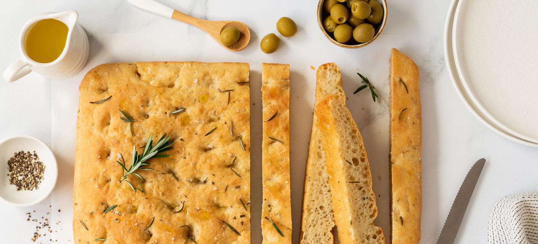 Easy focaccia bread image 1