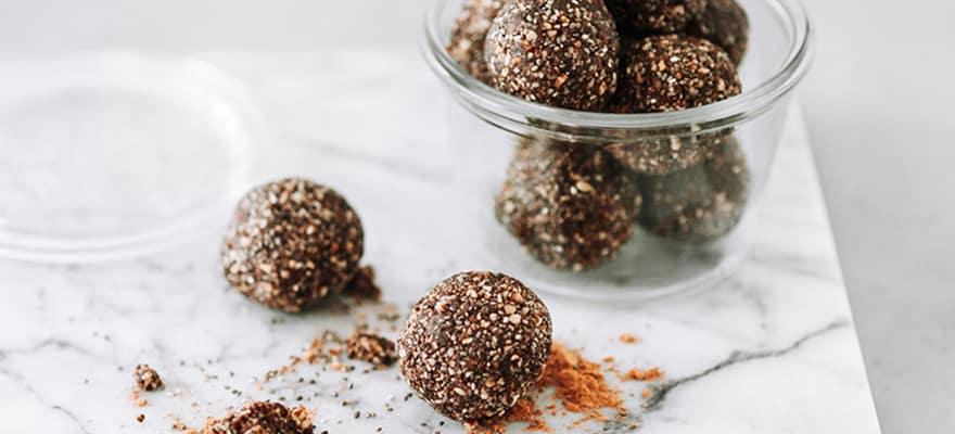 Peppermint bliss balls image 1
