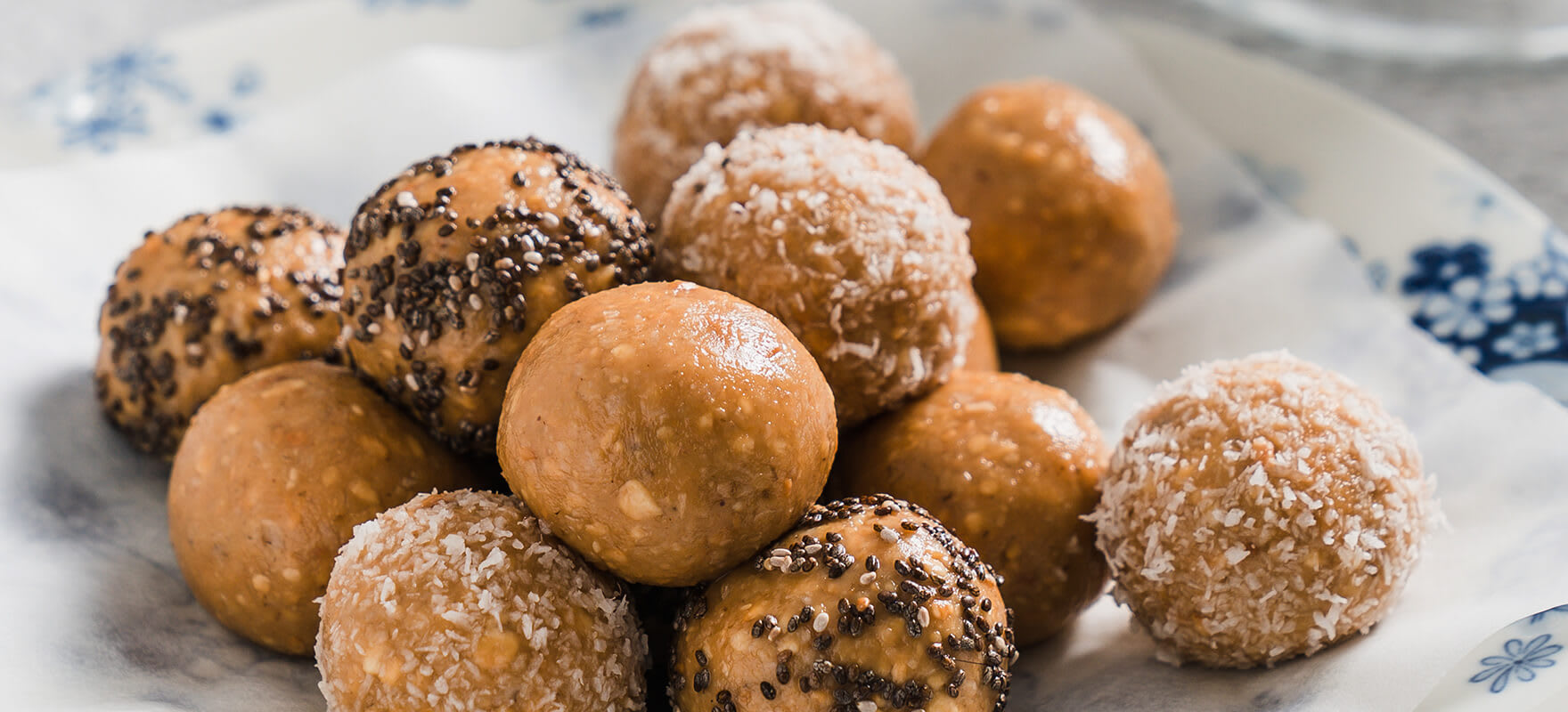 Peanut butter protein balls image 2