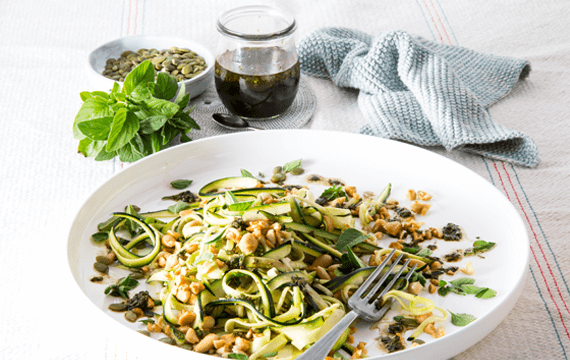Courgette zoodle salad image 1