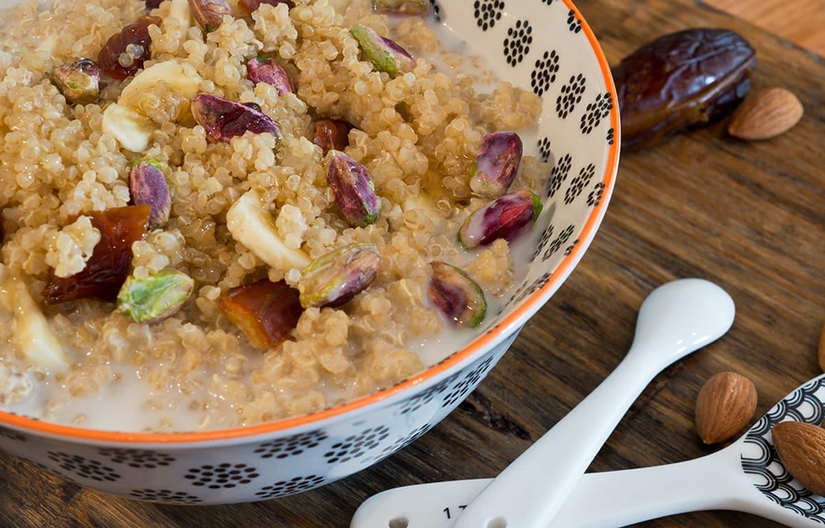 Rustic quinoa porridge image 1