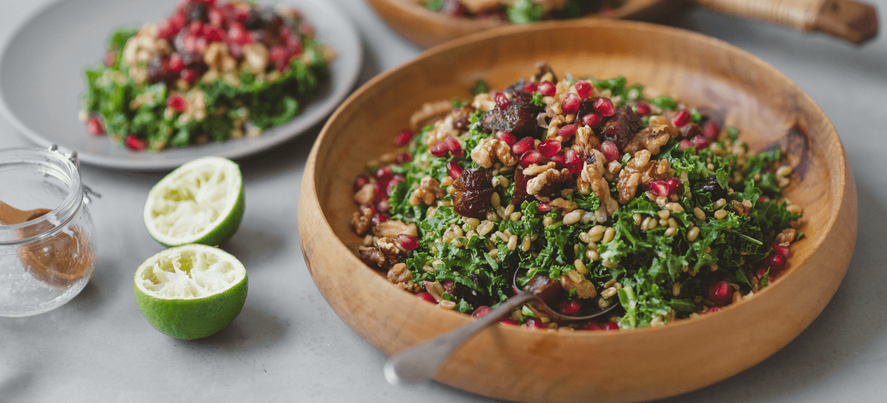 Middle Eastern farro salad thumbnail 2