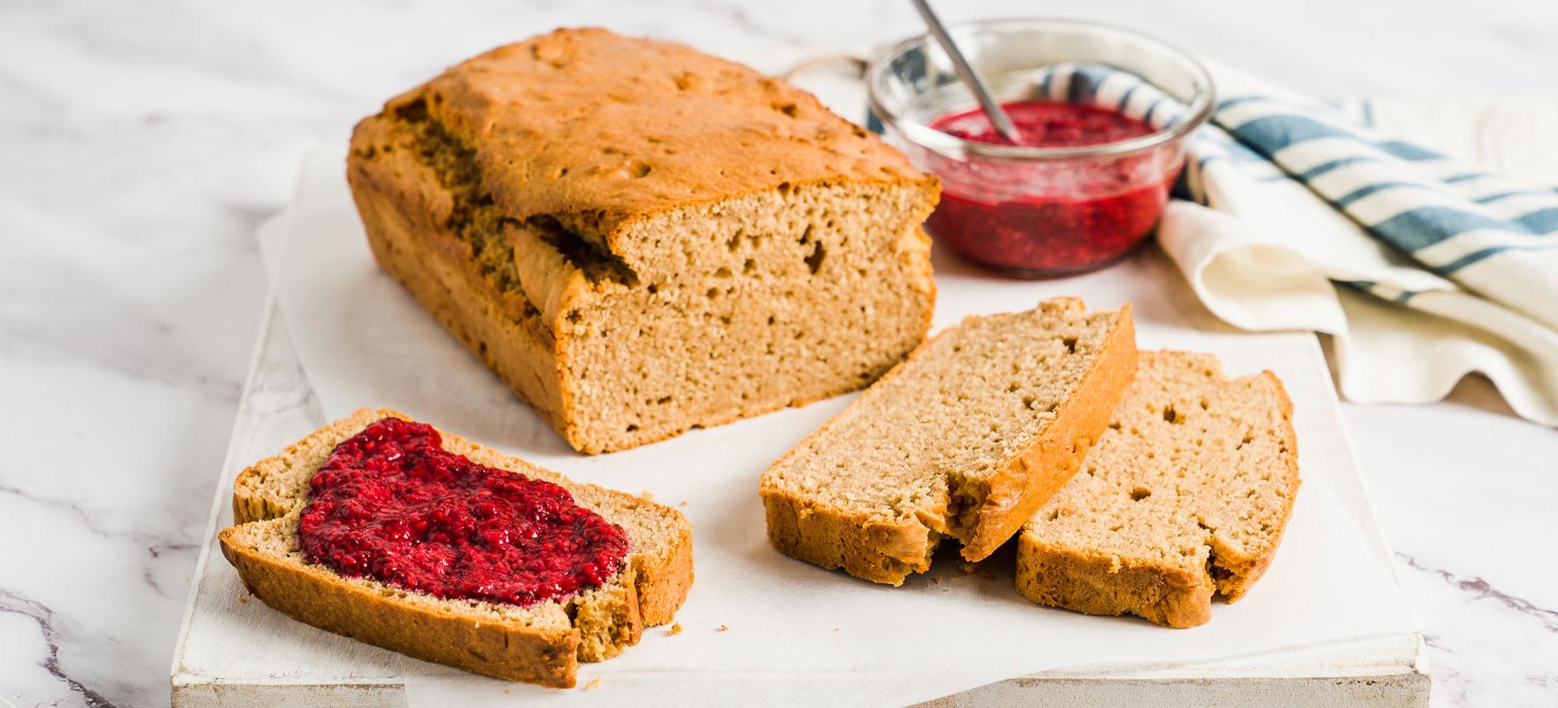 Vegan 5-Ingredient Peanut Butter Bread image 1