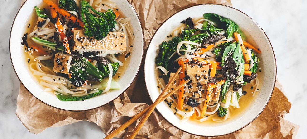 Sesame ramen noodles image 1
