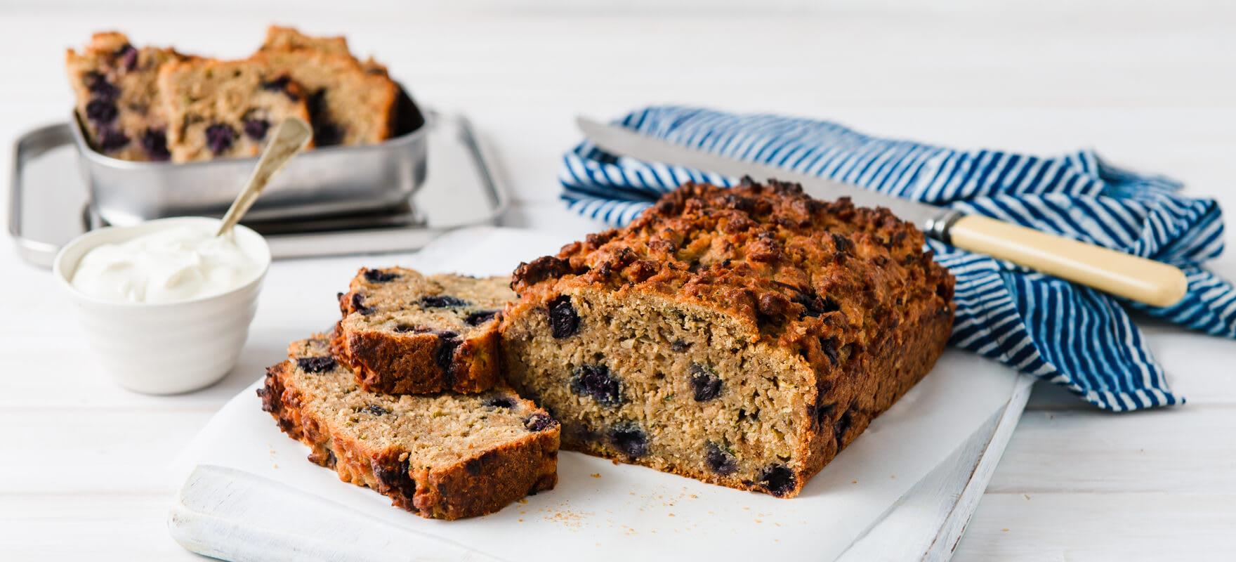 Blueberry & banana bread image 1