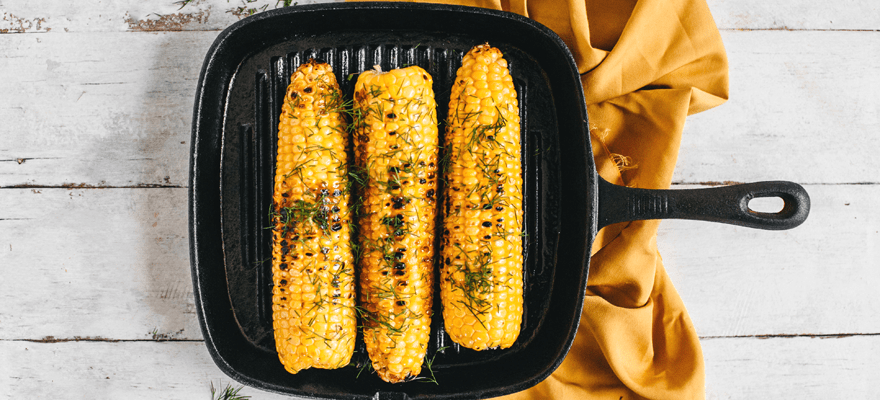 Charred corn on cob image 1