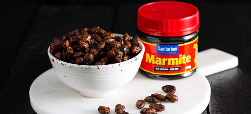 Toasted Marmite almonds or peanuts image 2