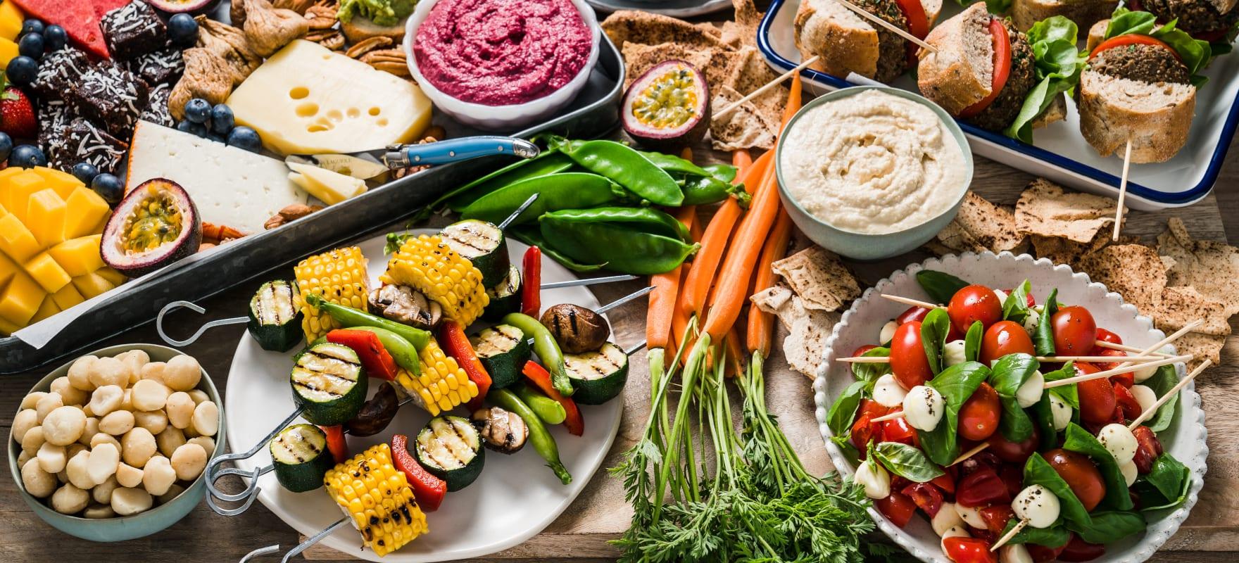 Summer BBQ grazing platter image 3