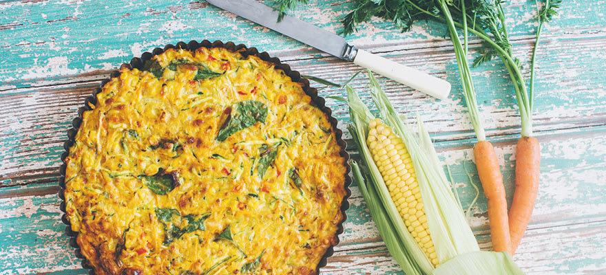 Spring vegetable pie image 1
