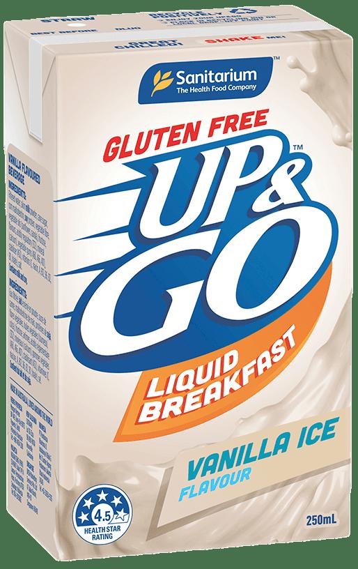 UP&GO™ Gluten Free Vanilla Ice Flavour