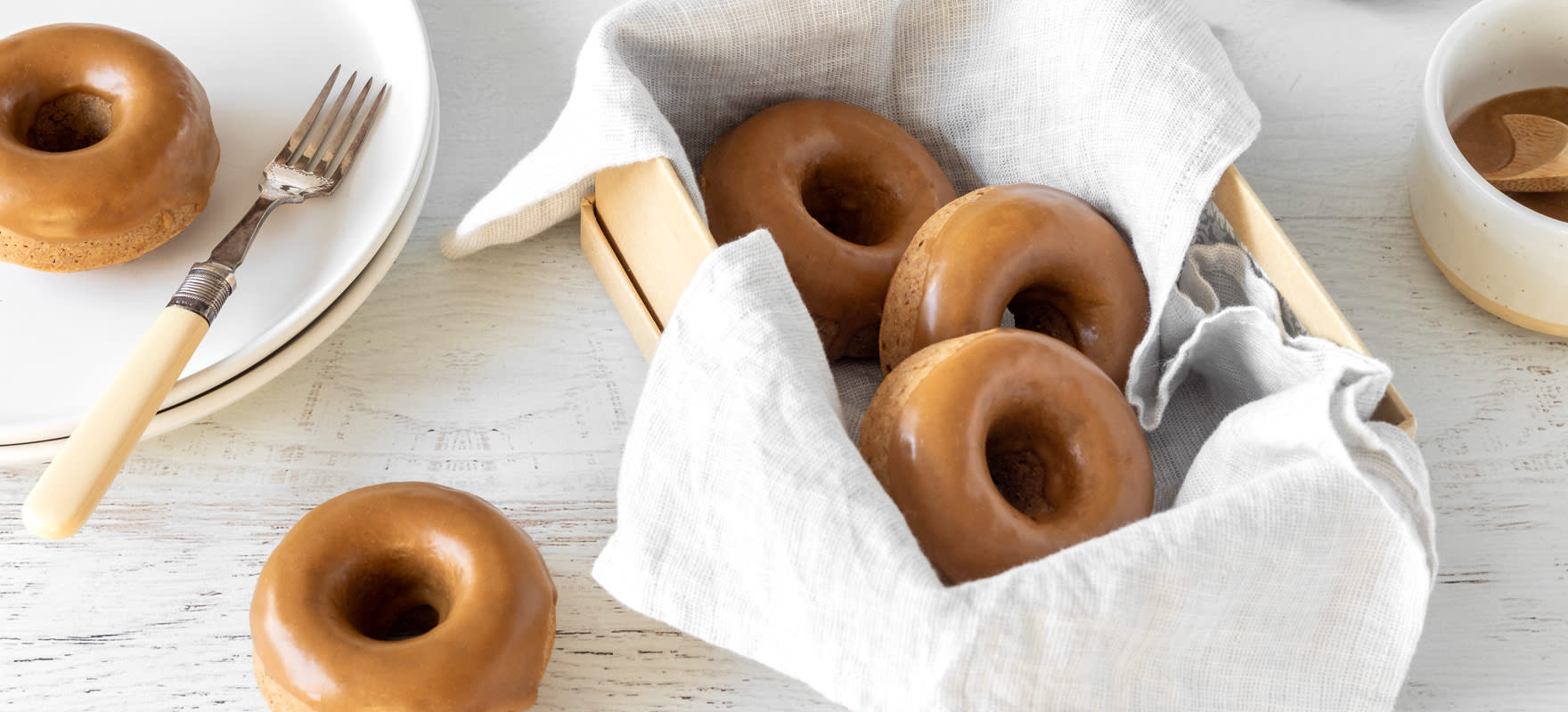 Sweet and salty marmite doughnuts image 1