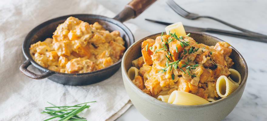 Creamy kumara pasta image 1