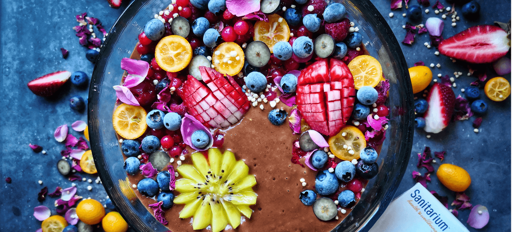So Good chocolate PB&J smoothie bowl image 1