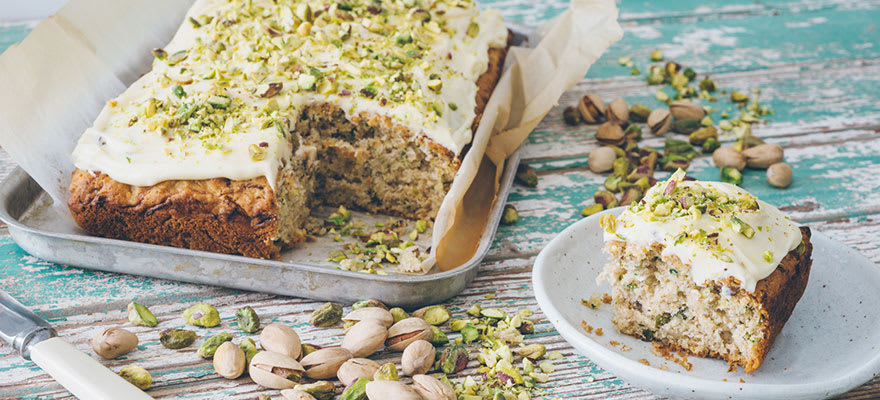 Zucchini and pistachio cake image 2