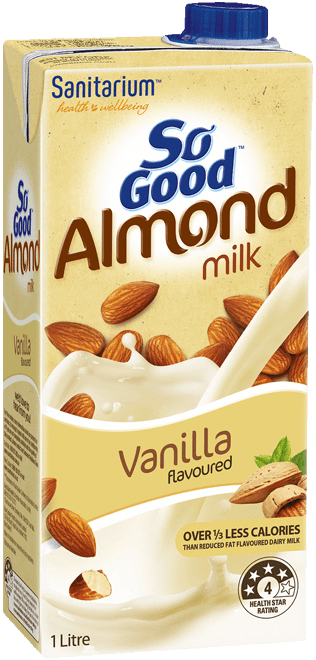 So Good Almond Milk Vanilla Flavoured