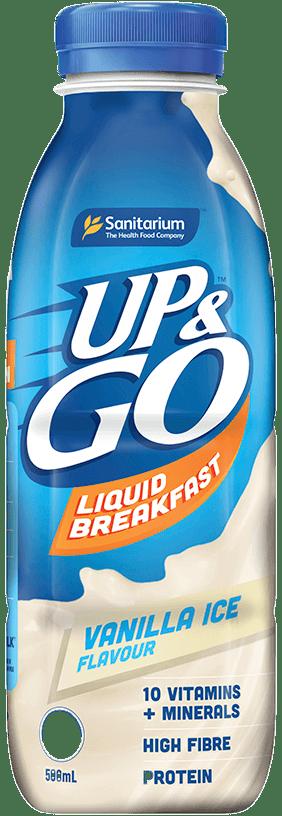 UP&GO Vanilla Ice Flavour